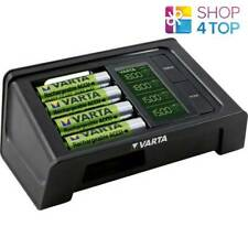 VARTA LCD SMART CHARGER 57674 FOR AA AAA BATTERIES + 4 x R6 AA 2100 MAH NEW