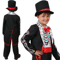Da Uomo Zombie jacko costume Pop King HALLOWEEN FANCY DRESS morti Popstar Suit