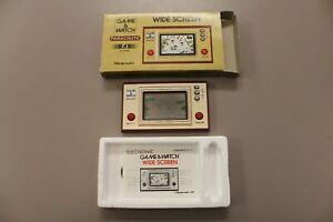 NINTENDO GAME AND WATCH 1981 PARACHUTE WIDE SCREEN HANDHELD GAME