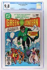 Green Lantern #142 - DC 1981 CGC 9.8 Omega Men Appearance. Adam Strange backup s