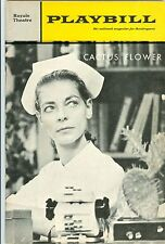 1967 Playbill CACTUS FLOWER Lauren Bacall Barry Nelson Royale Theatre excellent