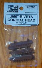 "Tichy Train Group HO #8266 /.05"" Diameter Conical Head Rivet -- pkg(96)"