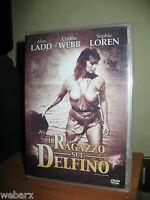 IL RAGAZZO SUL DELFINO DVD NUOVO SIGILLATO ALAN LADD SOPHIA LOREN NEGULESCO