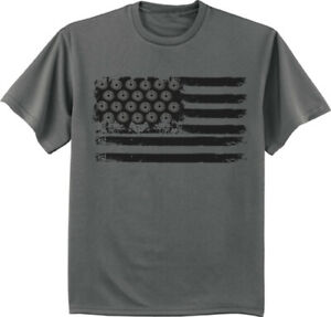Mens Big and Tall American Flag T-shirt Graphic Tee Clothing Apparel