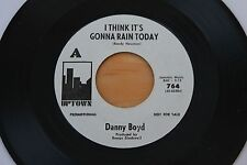 DANNY BOYD I Think It's Gonna Rain Today/Special Prayer 45 Northern Soul HEAR