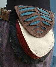 ♥ Gürteltasche Blatt ♥ Nepal Festivalgürtel Bauchtasche Hüfttasche Ethno Hippie