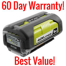 GENUINE RYOBI OP4050 40 VOLT LITHIUM ION 5AH REPLACEMENT BATTERY 40V 180WH LIION