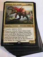 ***Custom Commander Deck*** Gishath Sun's Avatar - Dinosaurs EDH Mtg Magic Cards
