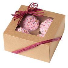 Wilton 4 Cavità Kraft torte Muffin biscotti Caramelle Decorazione Quadrato