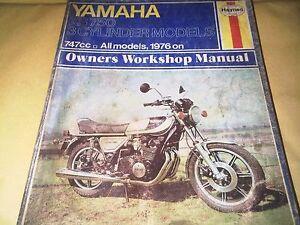 Yamaha Xs Haynes Motorcycle Service Repair Manuals For Sale Ebay