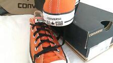 Classic summer orange Converse All Stars Size UK6