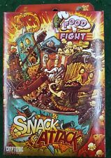 Snack Attack Cryptozoic Food Fight Card Game Expansion 2012 - Factory Sealed