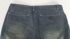 ANGELS Womens Size 11 Medium Wash Distressed Boot Cut Cotton Blend Jeans