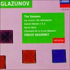 GLAZUNOV:SEASONS NEW CD