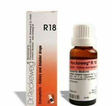 Dr Reckeweg Germany R18 Homeopathic drops 22ml