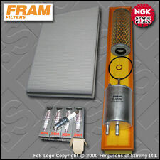 SERVICE KIT MERCEDES C180 W203 2.0 16V RHD OIL AIR FUEL CABIN FILTER PLUG (00-02