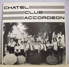 "33T CHATEL CLUB ACCORDEON Châtellerault Disque LP 12"" KALINKA Musette CA 01 RARE"