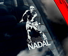 Rafael Nadal - Tennis Car Window Sticker - Rafa Espana Spain Champion Sign