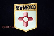 NEW MEXICO COLLECTOR EMBROIDERED SHIELD PATCH STATE LAND OF ENCHANTMENT