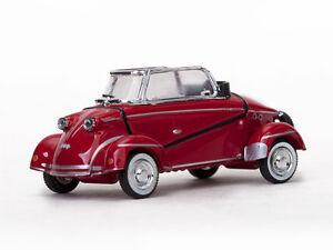 """1958 MESSERSCHMITT """"TIGER"""" TG500 CONVERTIBLE RED 1/43 MODEL CAR BY VITESSE 29054"""