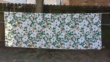 "Print White Poinsettia Holly Christmas Rectangle 80""X58""Tableclo th Free Shipping"