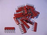 Resistor Network 68000 OHM 68K 6 PIN 2% LOW C-SIP BI Beckman L061C683 Qty 25
