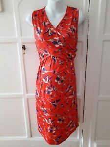 Pat Pat Maternity/Nursing Faux wrap Dress Size XL  14/16