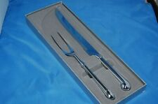 From Gump's: a stainless steel carving set in original box