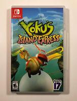 Yoku's Island Express (Nintendo Switch, 2018) Free Fast Shipping