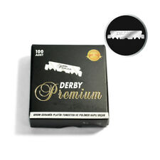 Derby Premium Single Edge Razor Blades 100 Count