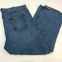 Old Navy Famous Denim Jeans Mens 40X30 Blue Straight Leg Cotton Medium Washed