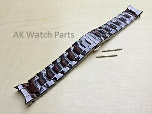 Spare Black Ceramic Strap Fits Emporio Armani AR1400 Watch Bracelet/Band Link