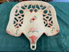 Antique Cast Iron Tractor Seat Painted 825