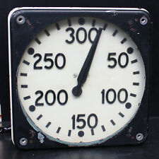 Antique Vintage Steampunk Collectors Gauge Meter VERY LARGE VOLTMETER DIAL 300mm