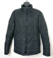 Kenneth Cole Reaction Black Quilted Jacket Small