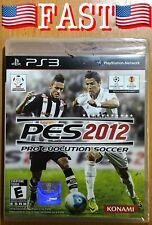 PS3 Game, Pro Evolution Soccer (PES) 2012, PlayStation 3, Konami - SEALED