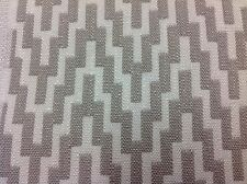 Romo Geometric Woven Chevron Upholstery Fabric- Indus/Sandstone 3.55 yd 7720/08