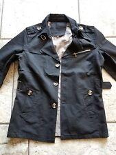 men single breast lapel trench coat. bnwt/ waist  size M( all season) slim fit