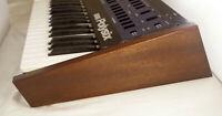 Korg Polysix Wooden Case Analog Synthesizer Meranti Wood Dark Brown