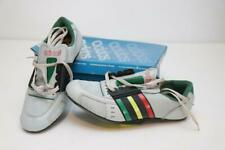 NOS Vintage Adidas Eddy Merckx Challenge Cycling Shoes Made in France Gray 41.3