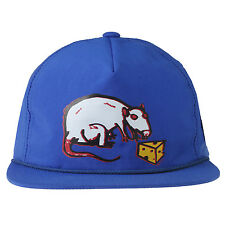 Obey Rodent Snapback Mens 100510018-COB Cobalt Blue Nylon Adjustable Hat Cap