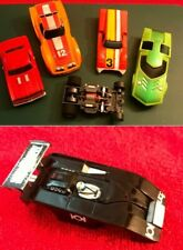 Aurora A/FX Model Motoring Fun Lot - Vintage HO Chassis & Bodies