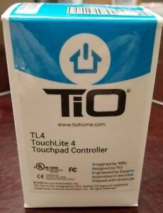 TiO TL4 Touchlite 4 Touchpad Controller Switch - NEW