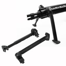 "1Heavy Duty Low Profile 8""-11"" Bipod 3 Level Adjustable 20mm Rail Mount Stick"