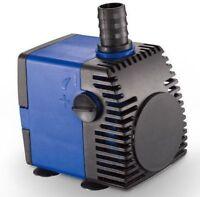 320 GPH Adjustable Submersible Water Pump Aquarium Fish Fountain Hydroponic