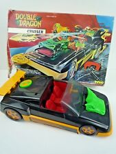VINTAGE TYCO 1993 DOUBLE DRAGON CRUISER WITH ROCKETS & BOX