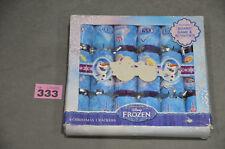 "6 x Disney Frozen Christmas Crackers Includes Board Game & Activities 9"" New"