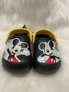 NWT Crocs Disney Mickey Mouse Fur Lined Patch  Toddler Size C8
