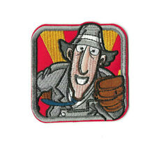 Inspector Gadget Iron on / Sew on Patch Embroidered Badge Cartoon Tv Pt555