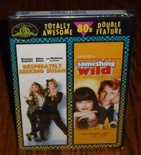 *BRAND NEW* Desperately Seeking Susan & Something Wild (DVD, 2007, 2-Disc Set)